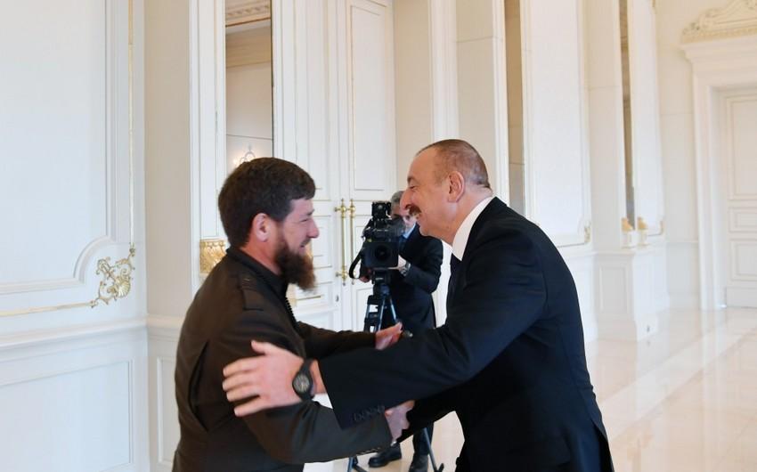 Президент Азербайджана совершит визит в Чеченскую Pеспублику