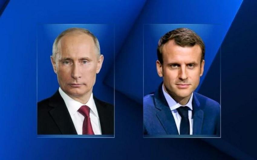 Путин и Макрон обсудили Сирию по телефону