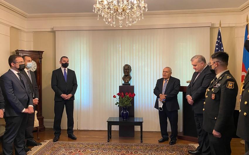Vaşinqtonda Heydər Əliyevin doğum günü qeyd edilib - FOTO