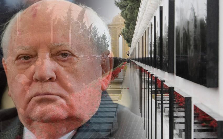 First Deputy Prosecutor General of Azerbaijan: Mikhail Gorbachev evaded investigation