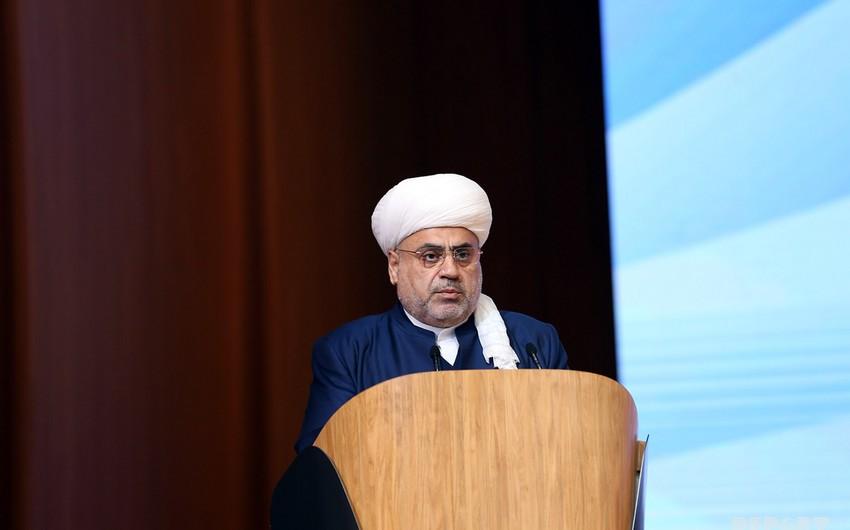 Заседание религиозных лидеров мира состоится в Баку
