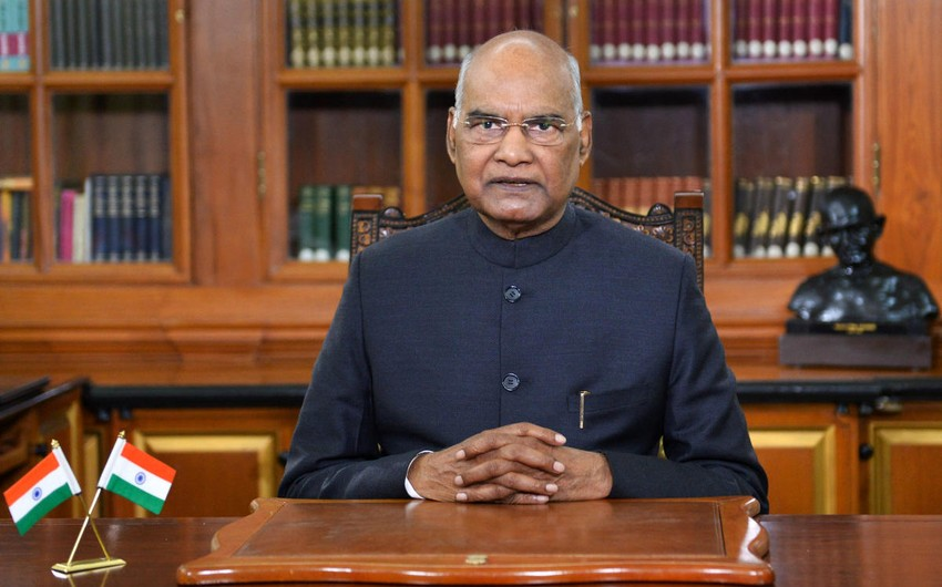 Indian president hospitalized