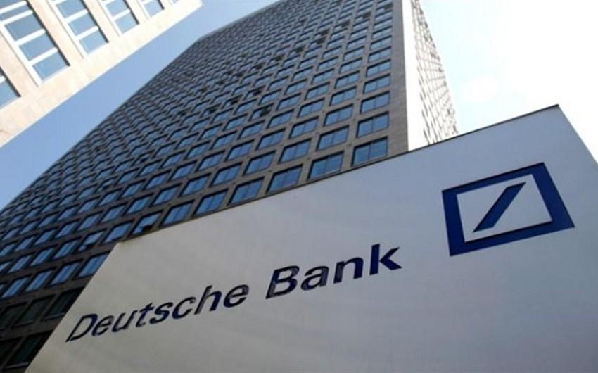 Deutsche Bankın iflas həddinə yaxınlaşması avronun zəifləməsi ilə nəticələnə bilər