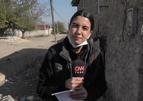 Освещавшая Карабахские события турецкая журналистка заразилась коронавирусом