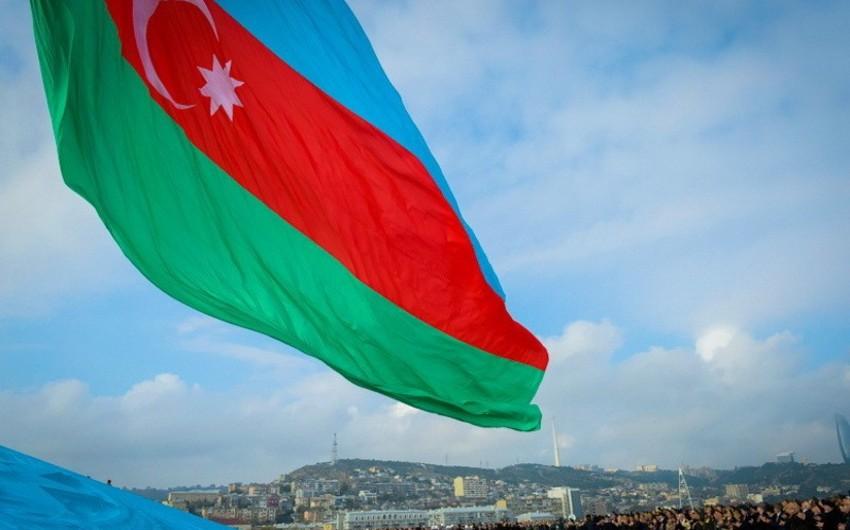В Азербайджане отмечается День Государственного флага