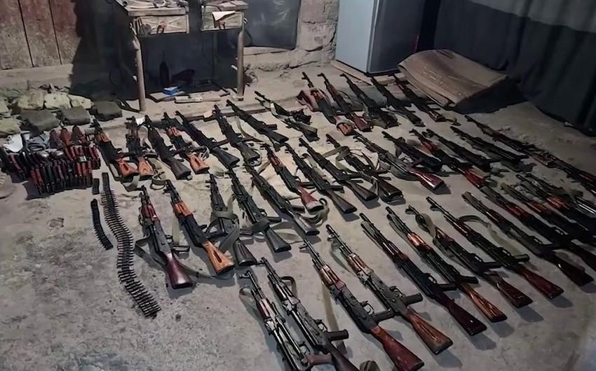 Qarabağdan Ermənistana silah daşıyan 39 nəfər həbs olunub