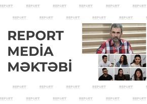 Report Media Məktəbində növbəti təlim proqramına start verilib