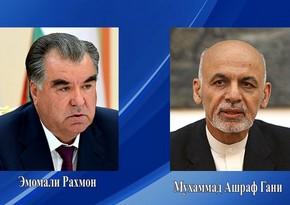 Состоялся телефонный разговор между президентами Таджикистана и Афганистана