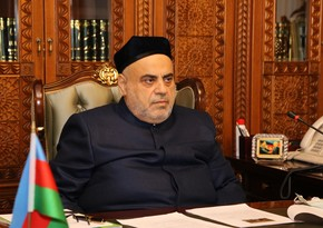 Azerbaijani religious leader to visit Kazakhstan for int'l event