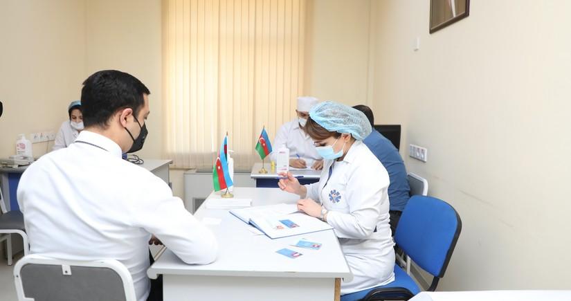 FHN əməkdaşlarının vaksinasiyasına başlanılıb