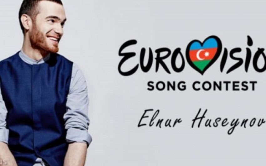 Эльнур Гусейнов провел вторую репетицию на сцене конкурса Евровидение-2015 - ВИДЕО