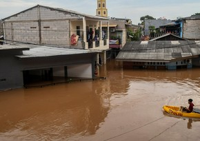 Severe floods kill at least five in Indonesia's capital