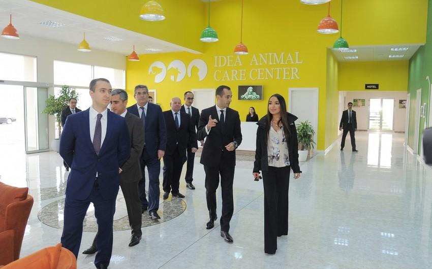 IDEA İctimai Birliyinin Sahibsiz Heyvanlar üçün Qayğı Mərkəzinin açılışı olub