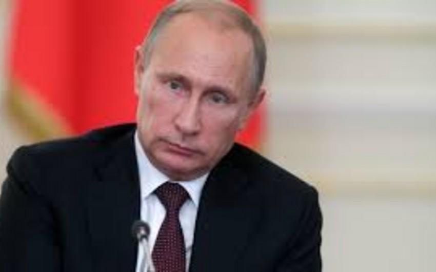 Rusiya Prezidenti Vladimir Putin Prezident İlham Əliyevə başsağlığı verib