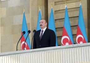 Глава государства: Души турецких шехидов, покоящихся в различных уголках Азербайджана, обрели покой