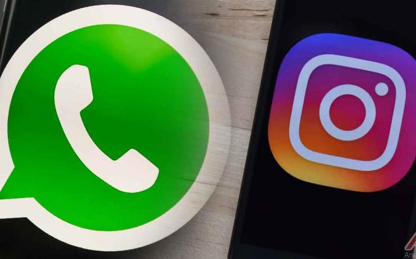 NRYTN: WhatsApp və Instagram platformalarına daxilolmada problem yaranıb