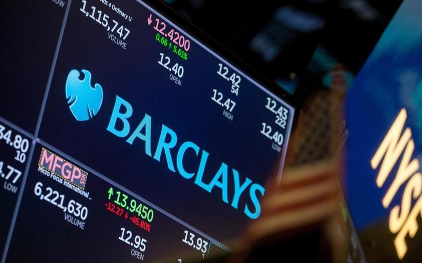 """""""Barclays"""": Gələn il neftin orta qiyməti 72 dollar/barel olacaq"""