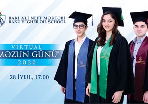 Baku Higher Oil School hosts 'Virtual Graduate Day'