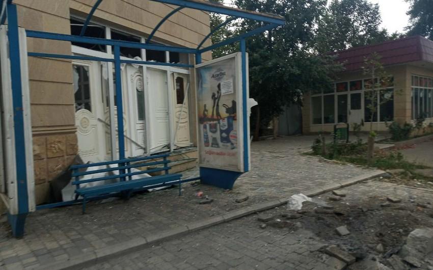 Defense Ministry: Armenians again shelling Tartar city