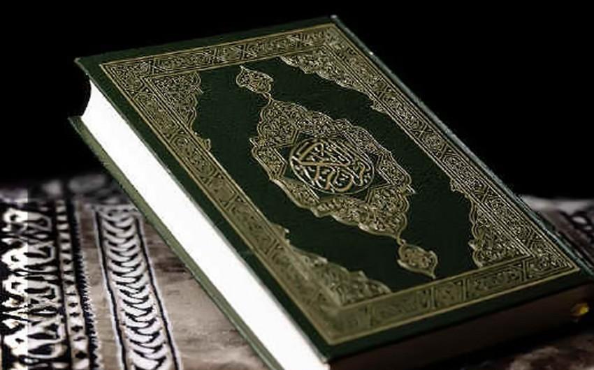 """Bakıda """"Qədim tarixi Quran kitabları"""" adlı sərgi açılıb"""