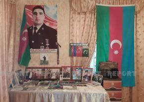 Шехид-спецназовец, награжденный медалью Азербайджанское знамя