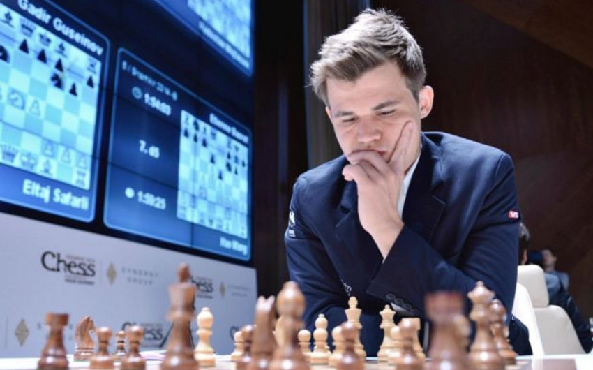 """Shamkir Chess 2015"" turnirində ikinci tura yekun vurulub"