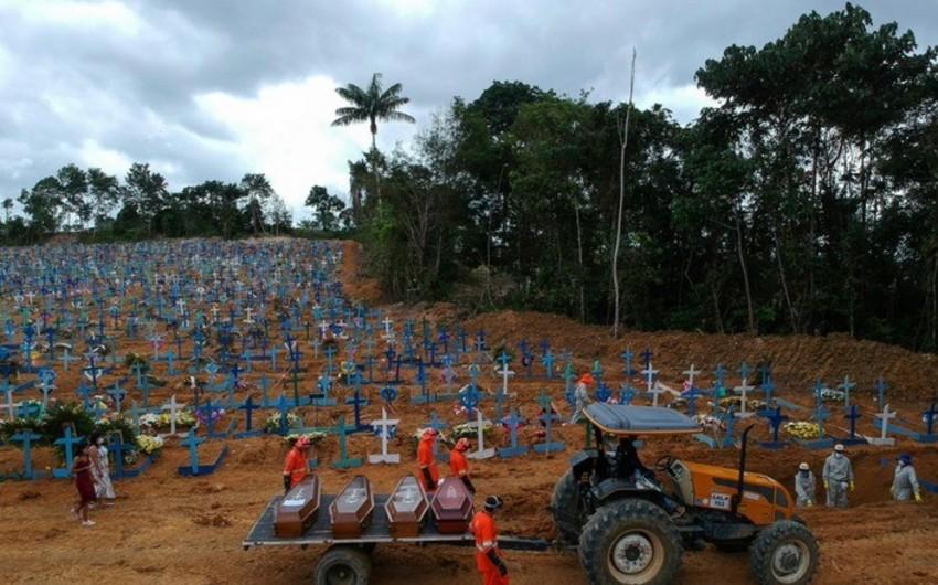 Braziliya koronavirusdan ölənlərin sayını yenidən hesablayacaq