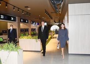 Ilham Aliyev, Mehriban Aliyeva attend opening of DOST center No3