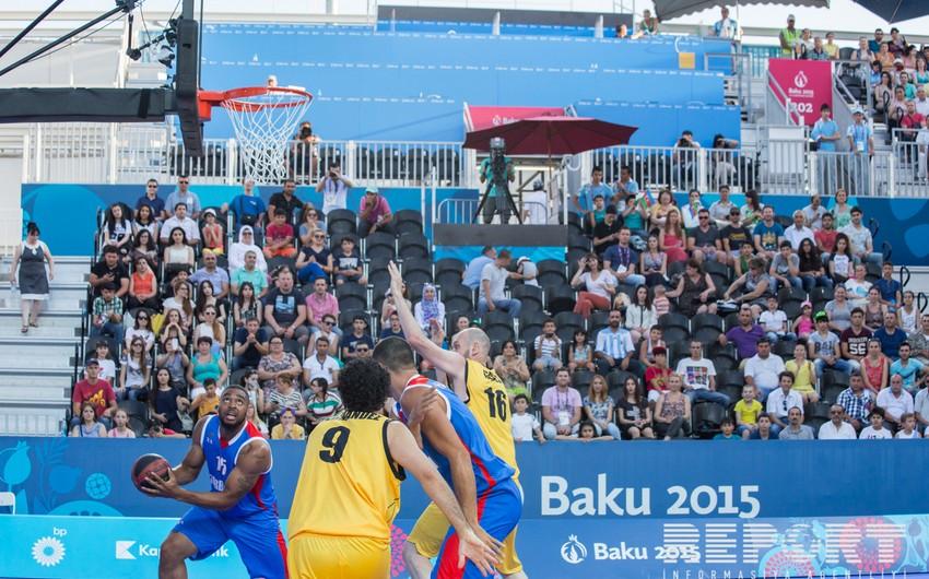 Azərbaycanın hər iki basketbol millisi 1/4 finalda mübarizəni dayandırıb