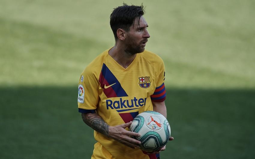 Messi yenə Barselonanın məşqinə qatılmadı