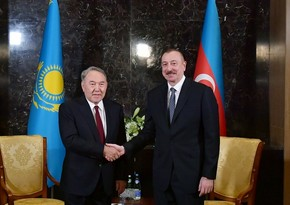 İlham Əliyev Nursultan Nazarbayevə telefonla zəng edib