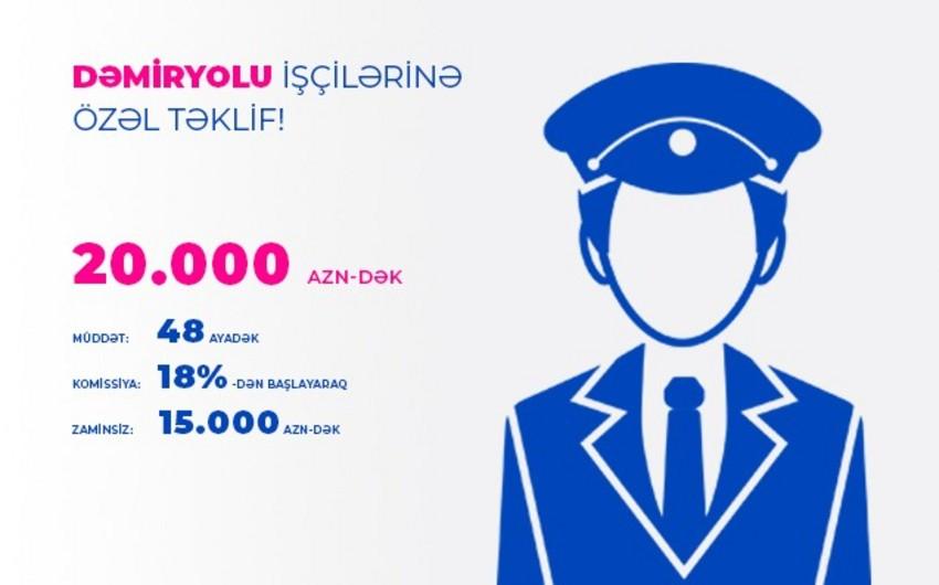 Azərbaycan Beynəlxalq Bankı dəmiryolu işçiləri üçün kredit kampaniyası keçirir