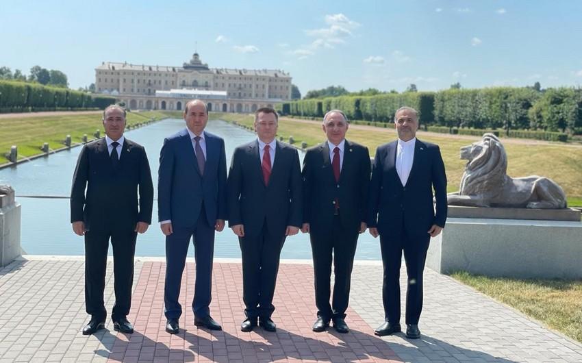 Azərbaycan, Rusiya, İran, Türkmənistan və Qazaxıstan baş prokurorları bəyannamə imzaladı