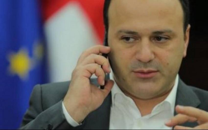 Gürcüstan baş nazirinin aparat rəhbəri istefa verib