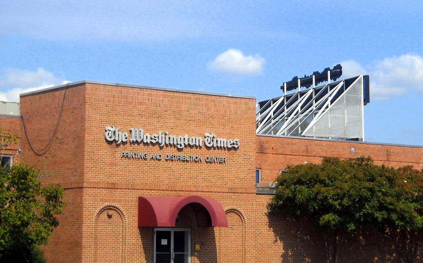 Washington Times: Sarqsyanın təhrikedici ritorikası Vaşinqtonda narahatlıq doğurur