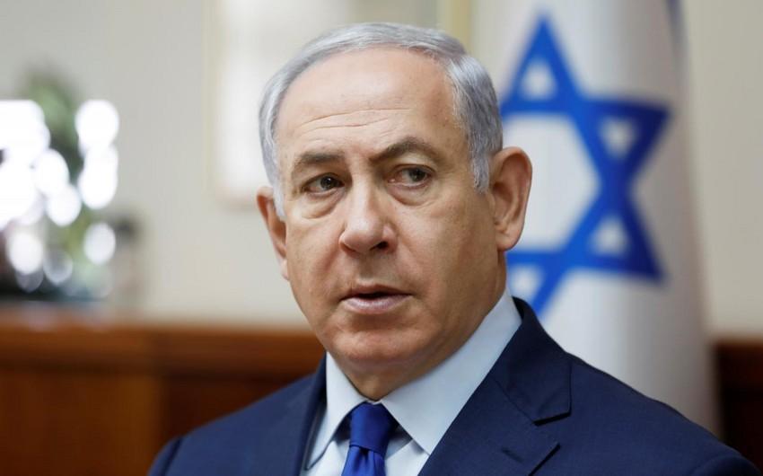 Benyamin Netanyahu Prezident İlham Əliyevi təbrik edib