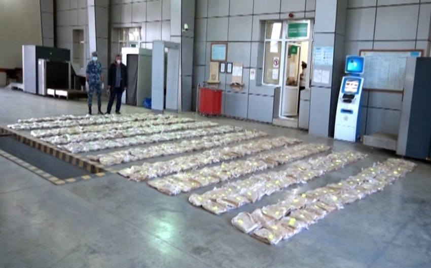 Gömrükçülər 545 kiloqram heroin aşkar edib - VİDEO