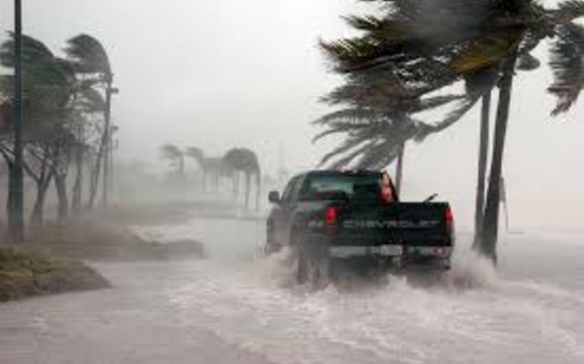 Floridanın şimalında son 11 ildə ilk dəfə qasırğa müşahidə olunub