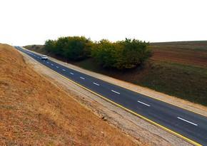 Şamaxıdakı Şəhriyar–Kələxana avtomobil yolu yenidən qurulub