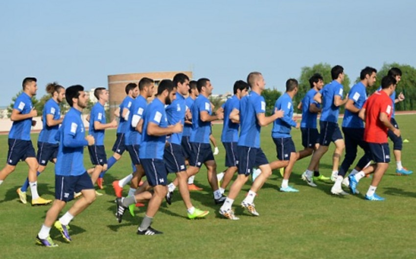 Обнародован основной состав сборной Азербайджана по футболу в матче с клубом Шахтер