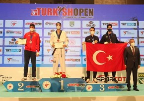 """Taekvondoçumuz """"Turkish Open"""" beynəlxalq turnirində qızıl medal qazandı"""
