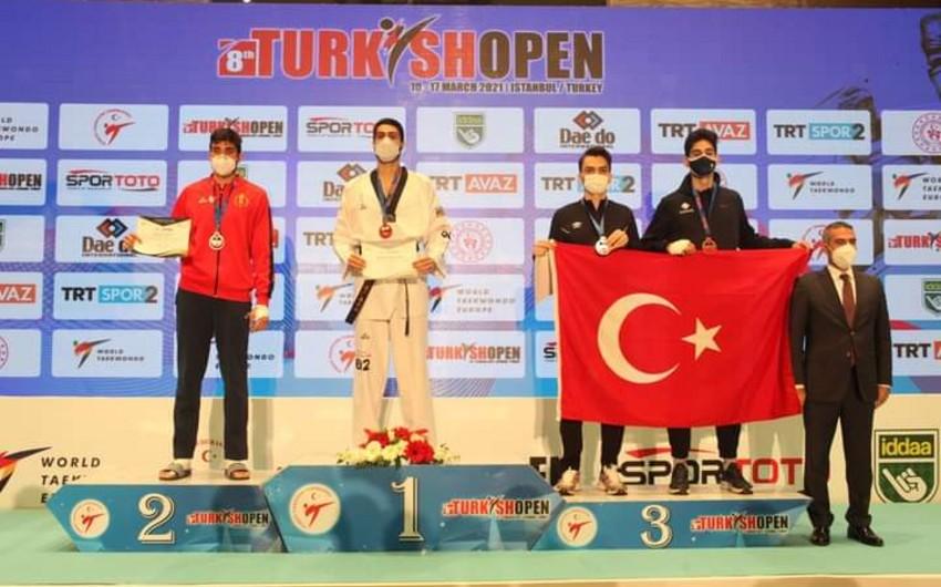 İdmançımız Türkiyədə qızıl medal qazandı -