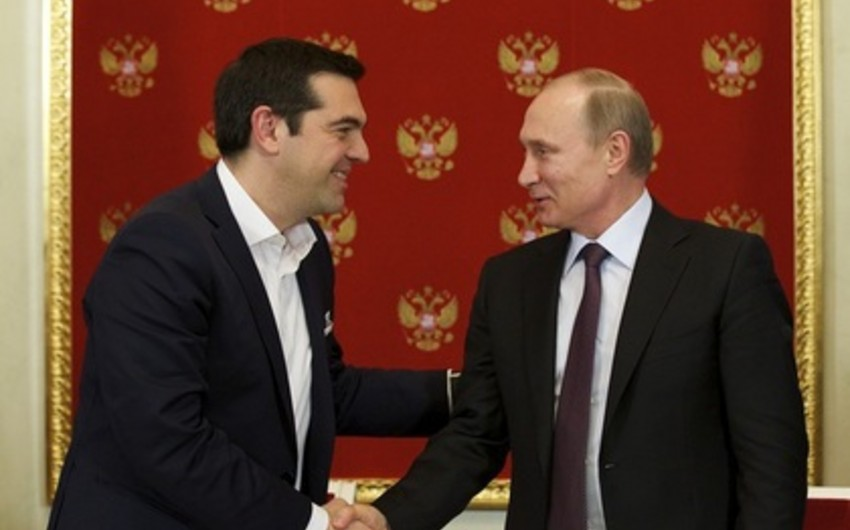 KİV: Rusiya Yunanıstana Türk axını layihəsi üçün bir neçə milyard avro ayıracaq
