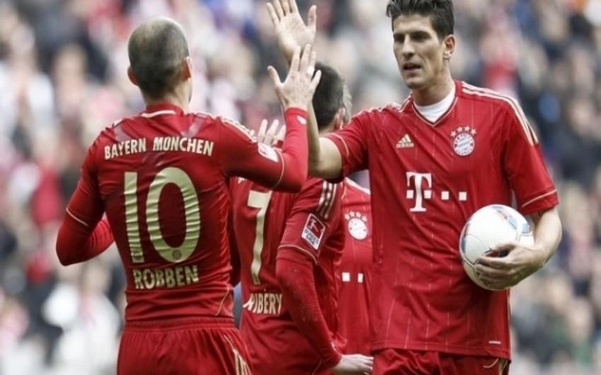 Bundesliqa: Bavariya məğlubiyyətsizlik seriyasını 12 oyuna çatdırıb