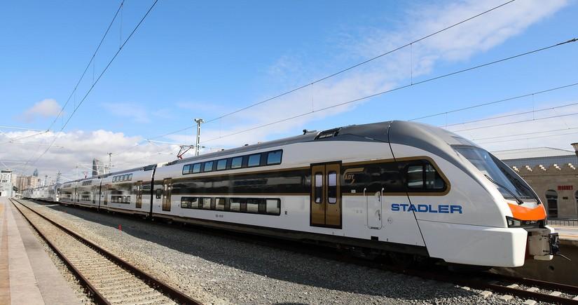 Количество поездов Баку-Сумгайыт увеличивается