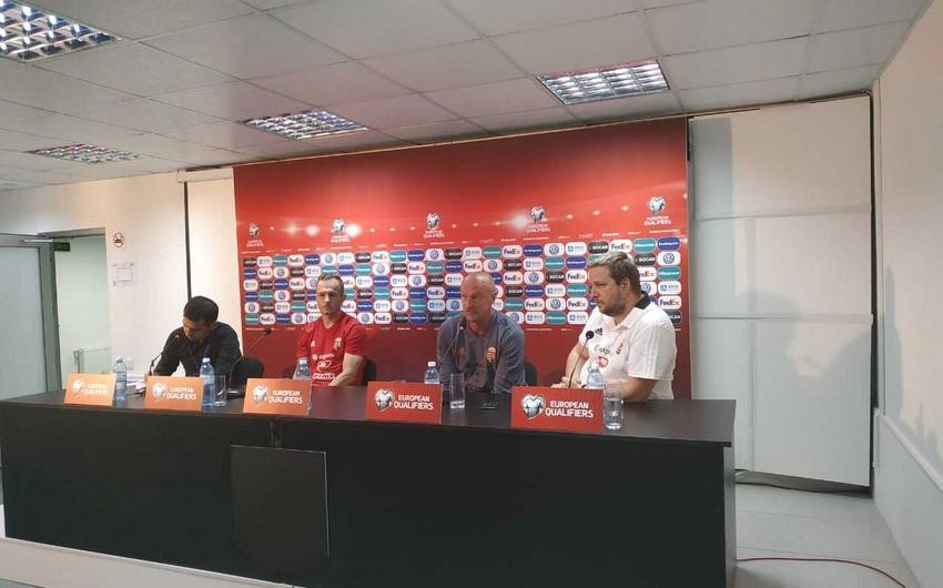 Тренер сборной Венгрии: Азербайджанские футболисты бились на поле