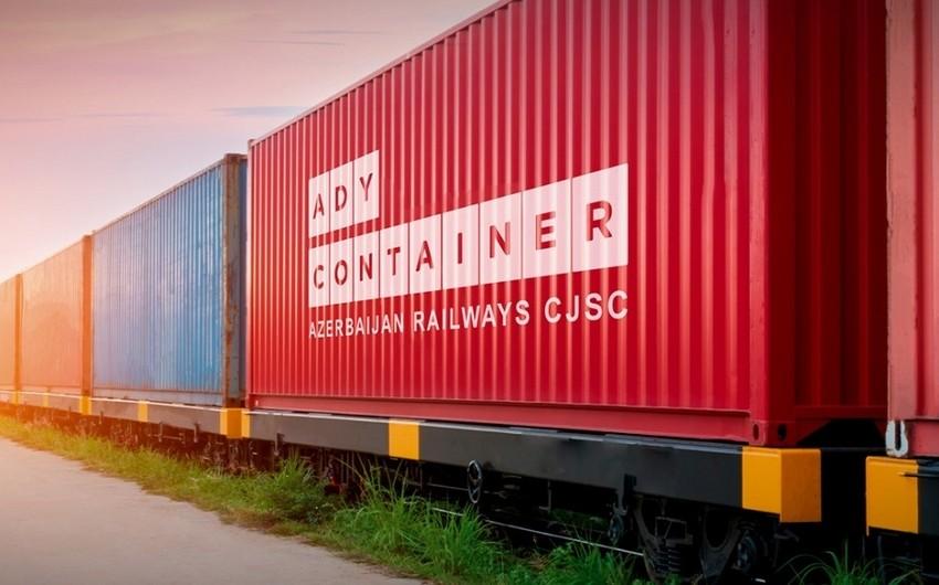 Azərbaycan dəmir yolu ilə konteyner daşımalarını artıracaq