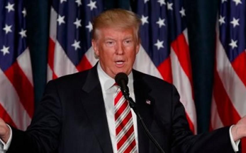 Tramp İranın ABŞ-la danışıqlar aparmaq istədiyini bildirib