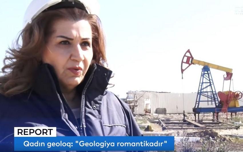 """Qadın geoloq: """"Geologiya romantikadır"""" - VİDEO - FOTO"""