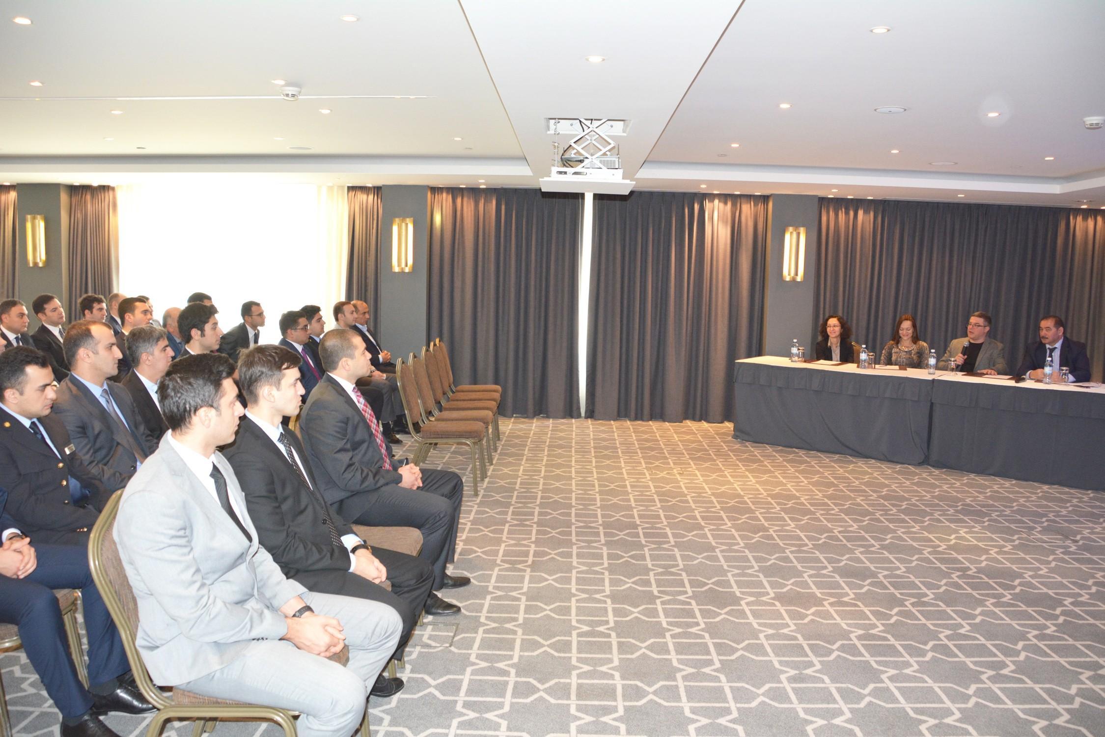 DGK əməkdaşları üçün əqli mülkiyyətin qorunması mövzusunda seminar keçirilib